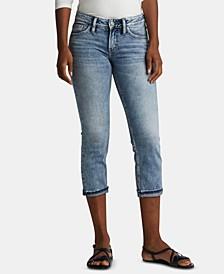 Suki Cuffed Capri Jeans