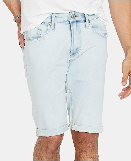 Buffalo David Bitton Men's Parker-X Slim-Fit Stretch Denim Shorts