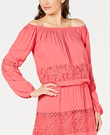 Viola Lace Off-The-Shoulder Top