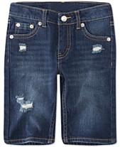 76fa2274 Levi's® Toddler Girls Distressed Denim Bermuda Shorts