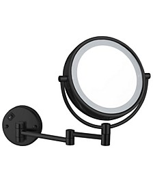 Glimmer Double Face LED 5x Magnifying Mirror