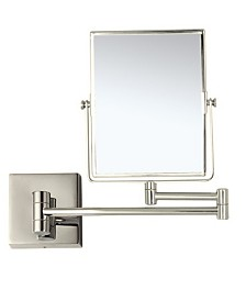 Nameeks Glimmer Double Face 3x Wall-Mounted Makeup Mirror