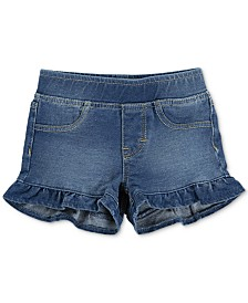 Levi's® Little Girls Ruffle French Terry Shorts