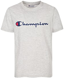 Champion Heritage Logo-Print T-Shirt, Big Boys
