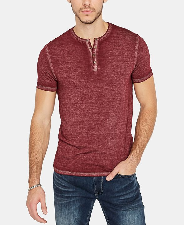 Buffalo David Bitton Kasum Henley Men's T-shirt