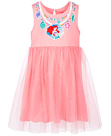 Disney Toddler Girls Bow-Back Ariel Dress, Created for Macy's