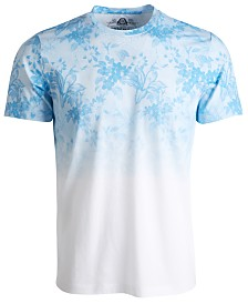 American Rag Men's Ombré Floral Graphic T-Shirt, Created for Macy's