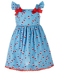 Blueberi Boulevard Baby Girls Rocket Popsicle Printed Dress