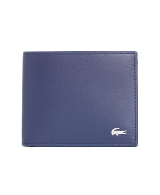 cb676a9fef Lacoste Men's Fitzgerald Leather Six Card Wallet & Reviews - All  Accessories - Men - Macy's