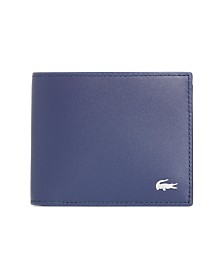 Lacoste Leather Bifold Wallet