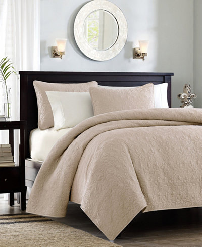Madison Park Quebec 2-Pc. Twin/Twin XL Coverlet Set