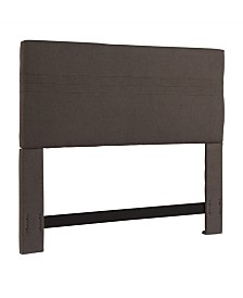 Highline Headboard, King/California King, Ash Grey