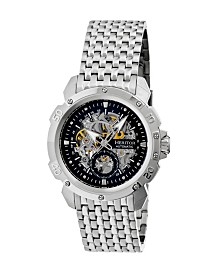 Heritor Automatic Conrad Stainless Steel Watch 42mm