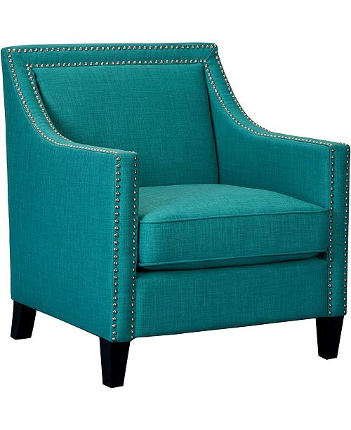 Miraculous Bridgehampton Accent Chair With Nailhead Trim 35 5 X 29 X 38 5 Creativecarmelina Interior Chair Design Creativecarmelinacom