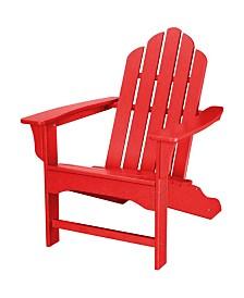 "All-Weather Contoured Adirondack Chair - 37.5"" x 29.75"" x 37"""