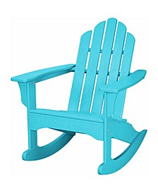 "All-Weather Adirondack Rocking Chair - 37.75"" x 29.75"" x 40"""
