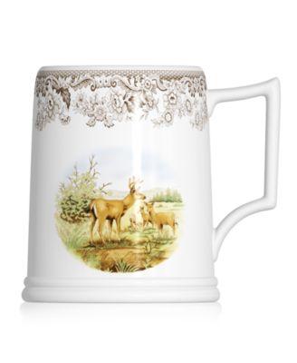 Dinnerware, Woodland Tankard Beer Mug Mule Deer