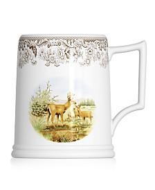 Spode Dinnerware, Woodland Tankard Beer Mug Mule Deer