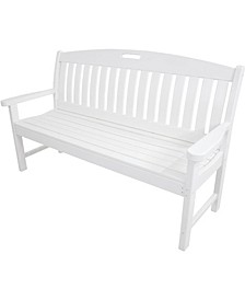 "Avalon All-Weather 60"" Porch Bench - 37.5"" x 63.75"" x 72"""