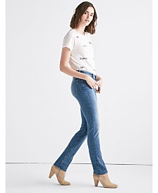Lucky Brand Women's Sweet Mid Rise Straight Jean