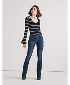 Women's Lolita Mid Rise Boot Jean