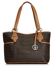 Block Signature Tote, Created for Macy's