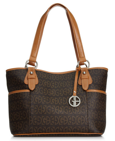 Giani Bernini Block Signature Tote, Only at Macy's