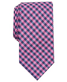 Nautica Men's Petra Check Slim Tie
