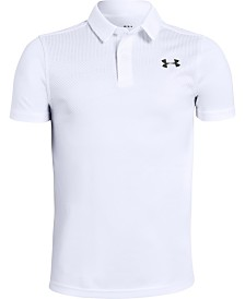 Under Armour Big Boys Tour Tips Polo