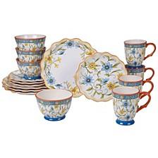 Torino 16pc Dinnerware Set