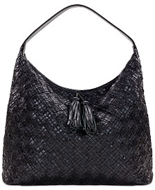 Patricia Nash Braided Stitch Marcellina Hobo