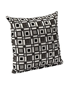 "Siscovers Square Root 26"" Designer Euro Throw Pillow"