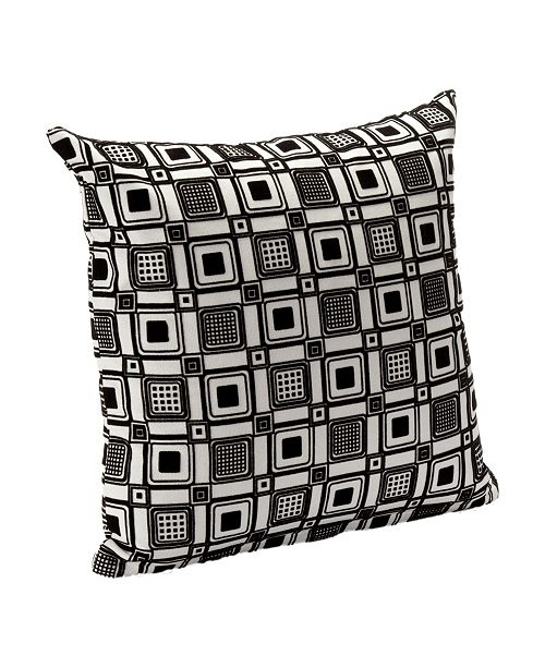 """Siscovers Square Root 26"""" Designer Euro Throw Pillow"""