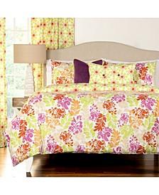 Spring Forward 6 Piece Queen Luxury Duvet Set