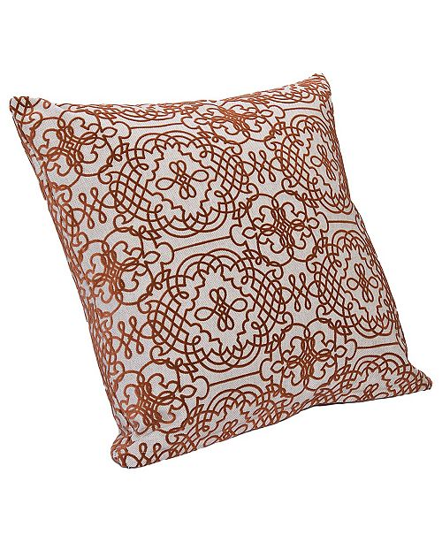 "Siscovers Manor 16"" Designer Throw Pillow"