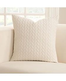 """Siscovers Whitecap 16"""" Designer Throw Pillow"""