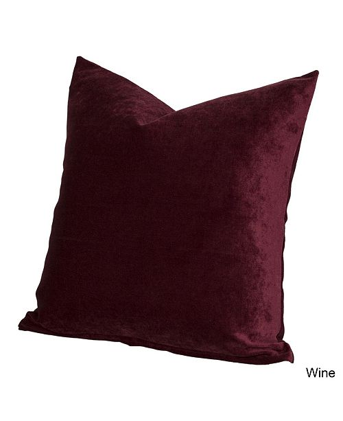 "Siscovers Padma Wine 16"" Designer Throw Pillow"