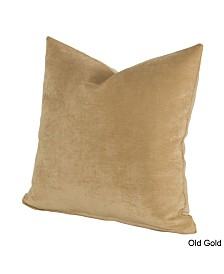 """Siscovers Padma Old Gold 20"""" Designer Throw Pillow"""