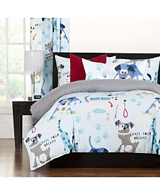 Crayola Chase Your Dreams 5 Piece Twin Duvet Set