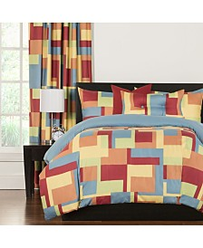 Crayola Paint Box 5 Piece Twin Luxury Duvet Set
