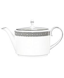 Dinnerware, Lace Teapot