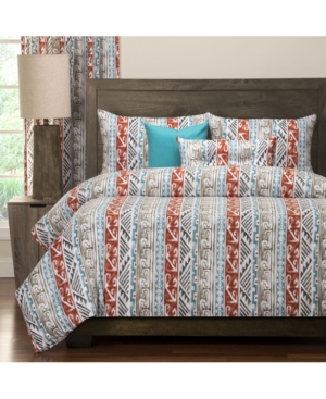 Navajo 6 Piece Full Size Luxury Duvet Set Bedding