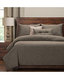 Pologear Belmont Greystone 6 Piece Cal King High End Duvet Set