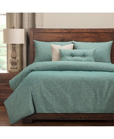 Belmont Turqouise 6 Piece Cal King High End Duvet Set