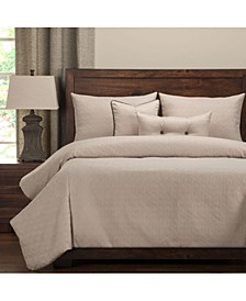 Saddleback Dusk 6 Piece Queen Luxury Duvet Set