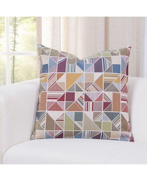 "Siscovers Deco Multi 16"" Designer Throw Pillow"
