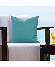 """Tropical Teal 20"""" Designer Throw Pillow"""