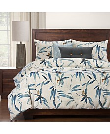 Siscovers Tropical Night 6 Piece Full Size Luxury Duvet Set