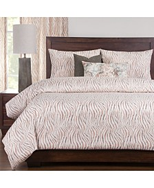 Pologear Zorse 6 Piece Cal King High End Duvet Set