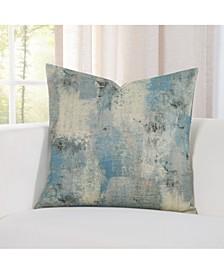 Calcutta Teal  Designer Throw Pillow